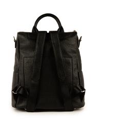 Mochila en eco-piel color negro, Primadonna, 151990073EPNEROUNI, 003 preview