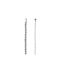 Cintura metallica argento con cristalli , Abbigliamento, 144010325MTARGEUNI, 001a