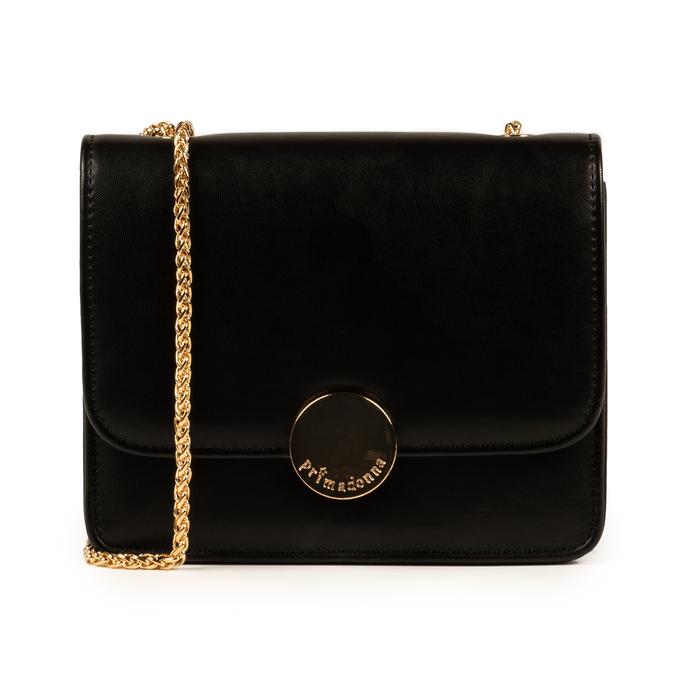 Petit sac noir en simili-cuir, IDEE REGALO, 155108225EPNEROUNI