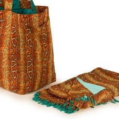 Bolso turquesa de tejido, Primadonna, 150500040TSTURCUNI, 004 preview