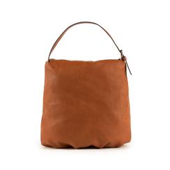 Maxi-bag  cuoio in eco-pelle, Primadonna, 151990171EPCUOIUNI, 003 preview