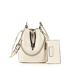 Mini secchiello bianco, Borse, 152327401EPBIANUNI, 001a