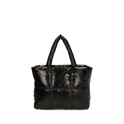 Sac duvet noir en tissu, Primadonna, 165122545TSNEROUNI, 001a