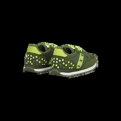 Sneakers verdi color block, Scarpe, 122618834MFVERD, 005 preview
