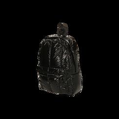 Zaino duvet nero in tessuto, Primadonna, 165122936TSNEROUNI, 002 preview