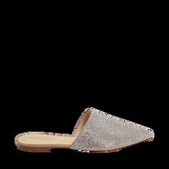 WOMEN SHOES SABOT MICROFIBER STONES ARGE, Zapatos, 154921861MPARGE036, 001a