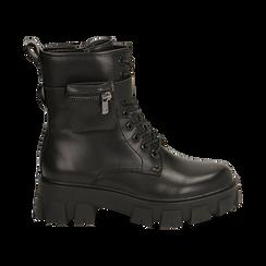 Botas militares en color negro, Primadonna, 160611112EPNERO035, 001 preview