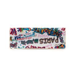 Pochette blanche verni avec un imprimé graffit, Sacs, 155122738VEBIMUUNI, 003 preview