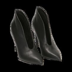 Ankle boots neri, tacco 10,50 cm , Primadonna, 162123746EPNERO038, 002 preview