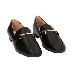 Mocassins noirs, Chaussures , 172760915EPNERO037, 002 preview