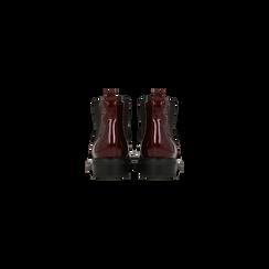 Chelsea Boots bordeaux vernice, lavorazione Duilio, Scarpe, 120618206VEBORD, 003 preview
