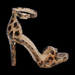WOMEN SHOES SANDAL EP-PATENT LEOP, Chaussures, 152133410VELEOP035, 001a