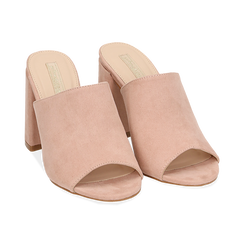 WOMEN SHOES SLIPPER MICROFIBER NUDE, Chaussures, 154998161MFNUDE036, 002 preview