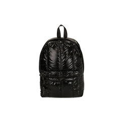 Zaino duvet nero in tessuto, Primadonna, 165122936TSNEROUNI, 001 preview