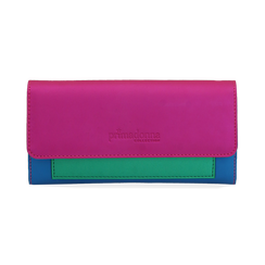 Monedero en eco-piel color fucsia, Bolsos, 153731369EPFUCSUNI, 001 preview