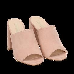 WOMEN SHOES SLIPPER MICROFIBER NUDE, Zapatos, 154998161MFNUDE036, 002a
