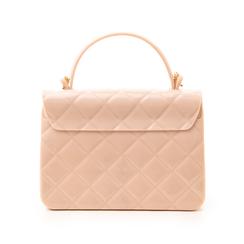 Mini-bag matelassé nude in pvc, Primadonna, 137402298PVNUDEUNI, 003 preview
