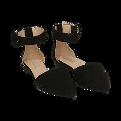 Bailarinas de microfibra en color negro, Primadonna, 154841142MFNERO036, 002 preview