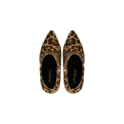 Stivaletti Bassi Leopardati in Microfibra, Scarpe, 122168615MFLEOP, 004 preview