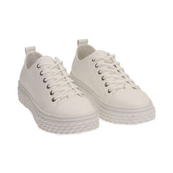 Sneakers bianche, Scarpe, 172822110EPBIAN035, 002 preview