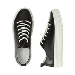 Sneakers nere, Scarpe, 172822110EPNERO035, 003 preview