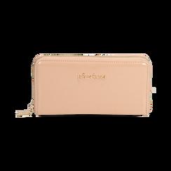 Portafogli nude in vernice, Borse, 155122519VENUDEUNI, 001 preview