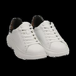 Sneakers bianco/leopard , Primadonna, 162602011EPBILE035, 002 preview