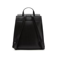 Zainetto nero in eco-pelle minimal, Borse, 133783137EPNEROUNI, 003 preview