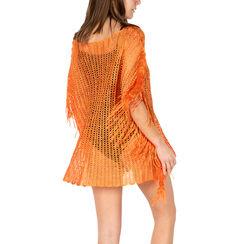 Poncho arancio retinato, Primadonna, 15B402916TSARANUNI, 002a