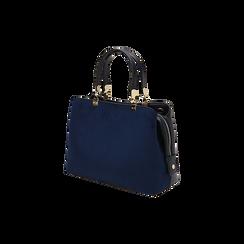 BAG BOLSO MICROFIBRA BLUE,  Bolsos , 16D971608MFBLUEUNI, 002 preview