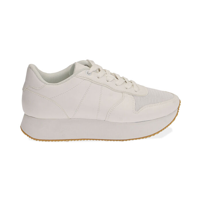 Sneakers bianche, Primadonna, 177519501EPBIAN035