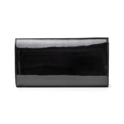 Pochette nera in vernice, Borse, 145122502VENEROUNI, 003 preview