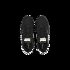Sneakers nere color block, Primadonna, 122618834MFNERO, 004 preview