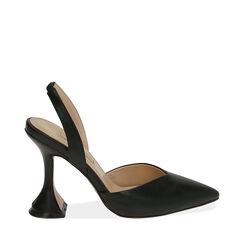 Destalonados negros, tacón 10,5 cm, Primadonna, 172190572EPNERO035, 001a