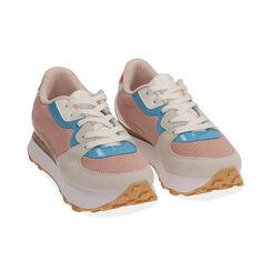 Sneakers rosa in tessuto tecnico , Primadonna, 177519601TSROSA035, 002 preview