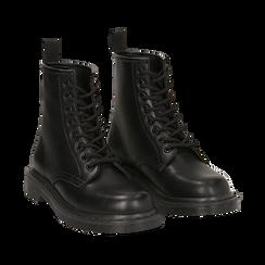 Botas militares en color negro, Primadonna, 162801501EPNERO035, 002 preview