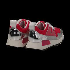 Sneakers fucsia in tessuto tecnico , Scarpe, 132619190TSFUCS037, 004 preview