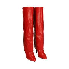 Bottes rouge, talon de 11 cm, Primadonna, 182146865EPROSS035, 002a