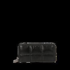 Portefeuille noir en tissu, Primadonna, 165122519TSNEROUNI, 001a