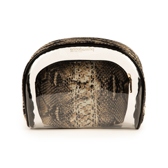 Trousse snake print in pvc, IDEE REGALO, 155122760PVMABEUNI, 003 preview