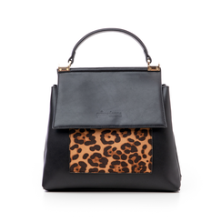 Borsa leopard in eco-pelle, Borse, 14D984147EPLEMAUNI, 003 preview