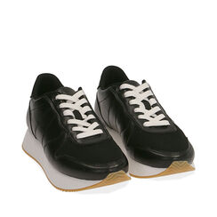 Sneakers nere, Primadonna, 177519501EPNERO035, 002a