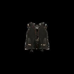 Décolleté nere sagomate con cinturino, tacco 10,5 cm, Primadonna, 122186724MFNERO, 003 preview