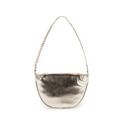 Petit sac argenté en simili-cuir brillant, Sacs, 155122722LMARGEUNI, 003 preview