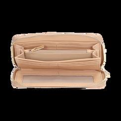 Portafogli nude in vernice, Borse, 155122519VENUDEUNI, 003 preview