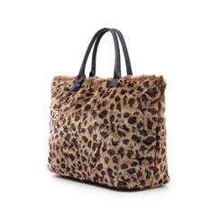 Borsa leopard in eco-fur, Borse, 141918831FULEMAUNI, 004 preview