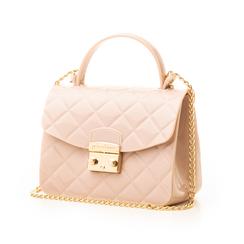 Mini-bag matelassé nude in pvc, Primadonna, 137402298PVNUDEUNI, 004 preview