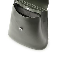Zaino verde in eco-pelle abrasivata, Primadonna, 143783137ABVERDUNI, 004 preview