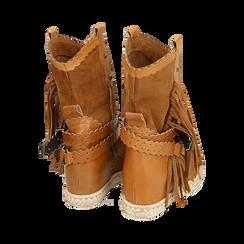 CALZATURA TRONCHETTI CAMOSCIO CUOI, Zapatos, 15A220102CMCUOI036, 004 preview