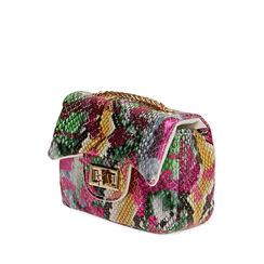 Mini-bag multicolor stampa pitone, Primadonna, 175122850PTMULTUNI, 002a
